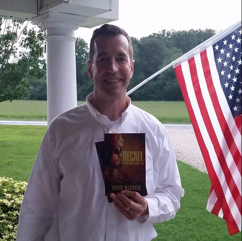 Author David McCaleb with Recall