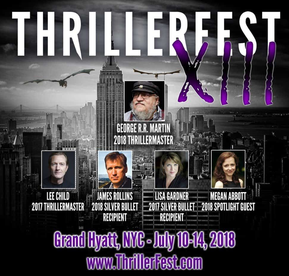Thrillerfest 2018 header